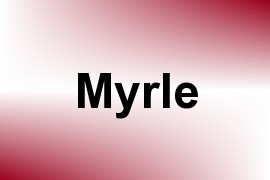 Myrle name image