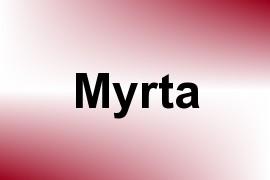 Myrta name image