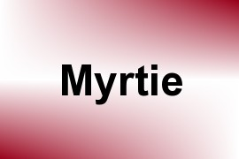 Myrtie name image