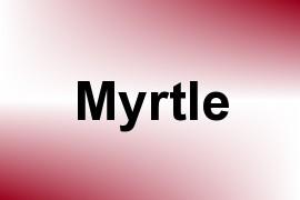 Myrtle name image