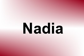 Nadia name image