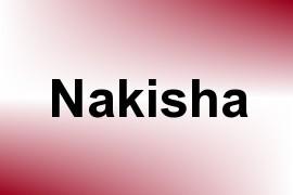 Nakisha name image