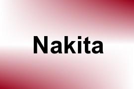 Nakita name image