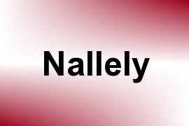Nallely name image