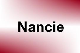 Nancie name image