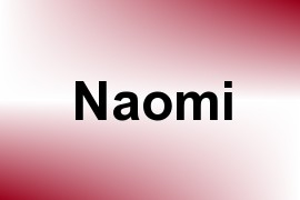 Naomi name image