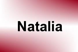 Natalia name image