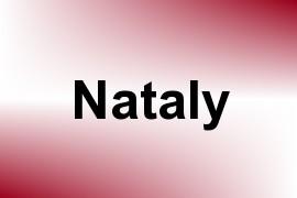 Nataly name image