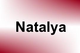 Natalya name image