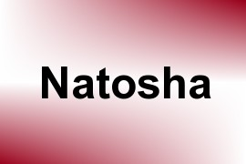 Natosha name image