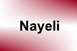 Nayeli name image