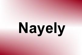Nayely name image