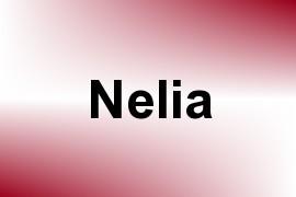 Nelia name image