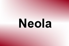 Neola name image
