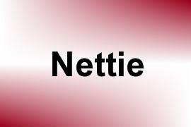 Nettie name image