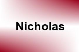 Nicholas name image