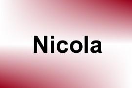 Nicola name image