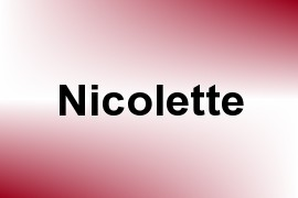 Nicolette name image