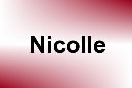 Nicolle name image