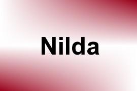 Nilda name image