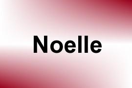 Noelle name image