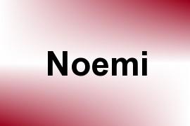 Noemi name image