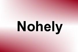 Nohely name image
