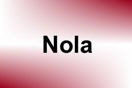 Nola name image