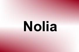 Nolia name image