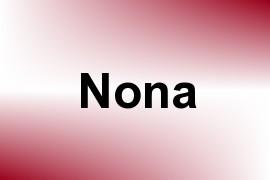 Nona name image
