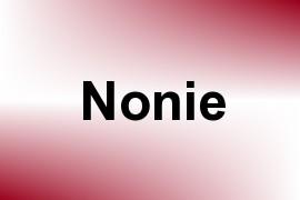 Nonie name image