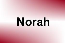 Norah name image