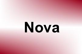 Nova name image