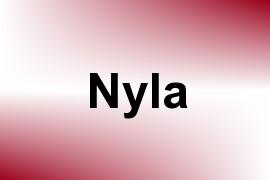 Nyla name image