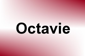 Octavie name image