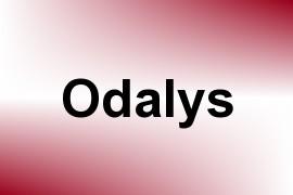 Odalys name image