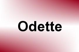 Odette name image