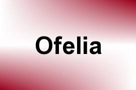 Ofelia name image