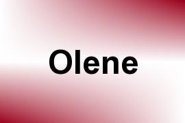 Olene name image