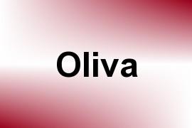 Oliva name image