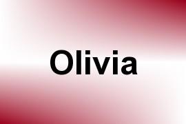 Olivia name image