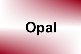 Opal name image