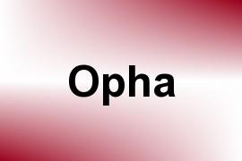 Opha name image