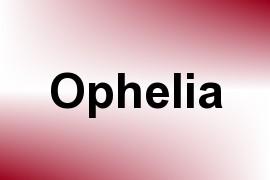 Ophelia name image