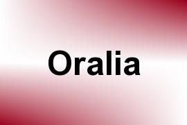 Oralia name image