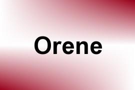 Orene name image