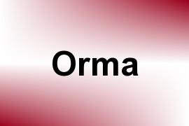 Orma name image