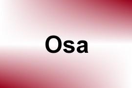 Osa name image