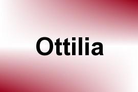 Ottilia name image