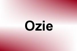 Ozie name image